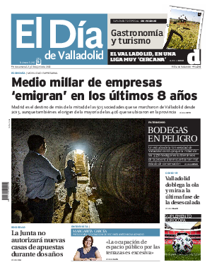 Portada El Dia de Valladolid